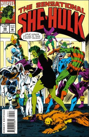 Sensational She-Hulk 59-A by Marvel
