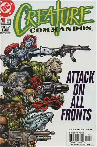 Creature Commandos 1-A by DC