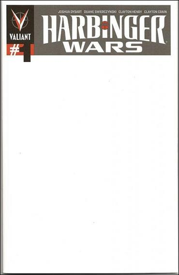 Blank Cover Con Exclusive - Harbinger Wars / Shadowman 1-A by Valiant Entertainment