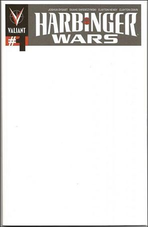 Blank Cover Con Exclusive - Harbinger Wars / Shadowman 1-A