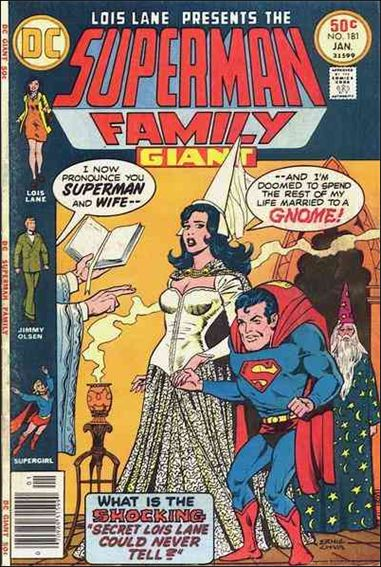 Superman Family 181-A by DC