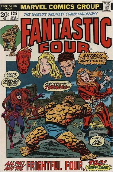 Fantastic Four (1961) 129-A by Marvel
