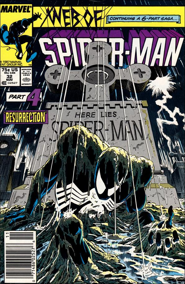 Web of Spider-Man (1985) 32-A by Marvel