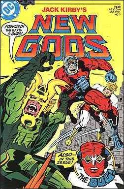New Gods (1984) 5-A by DC