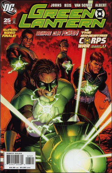 Green Lantern (2005) 25-B by DC