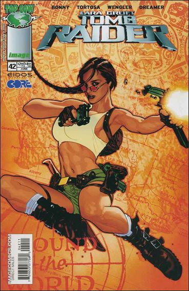 Tomb Raider: The Series 42-A by Top Cow