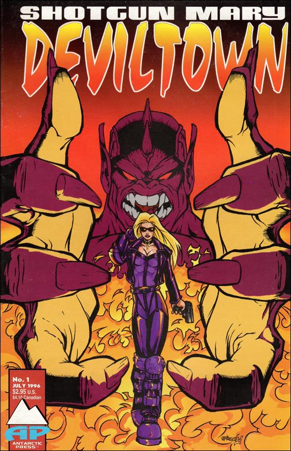 Shotgun Mary: Deviltown 1-A by Antarctic Press