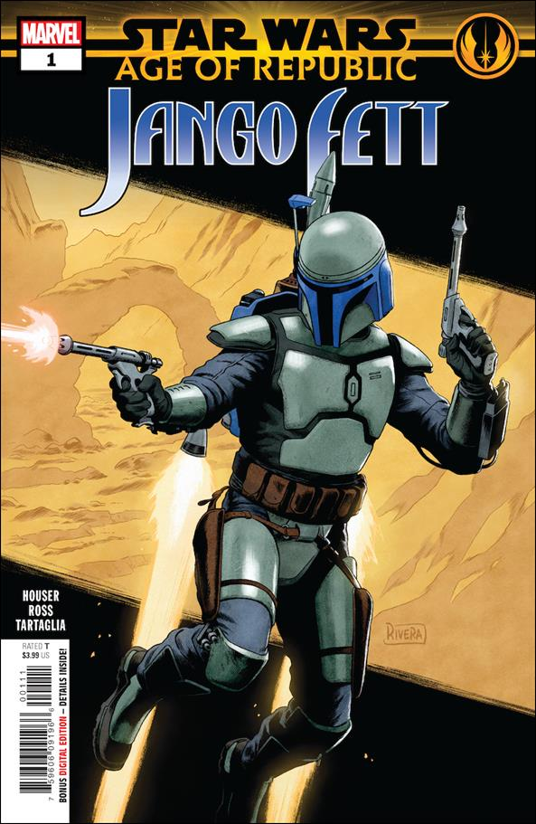 Star Wars: Age of Republic - Jango Fett 1-A by Marvel
