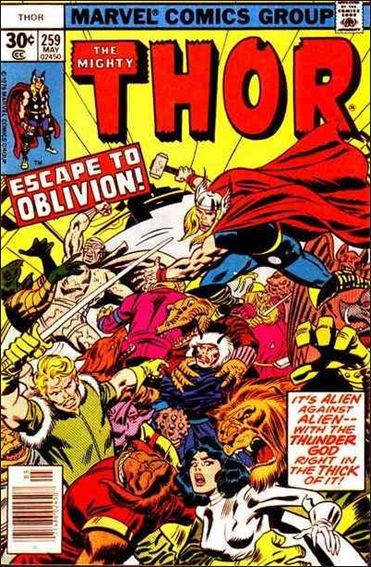 Thor (1966) 259-A by Marvel