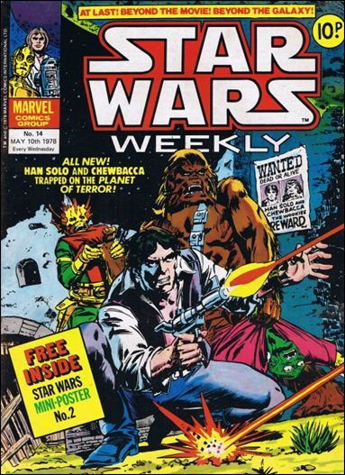 Star Wars Weekly (UK) 14-A by Marvel UK