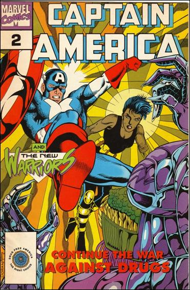 Captain America Goes to War Against Drugs 2-B by Marvel