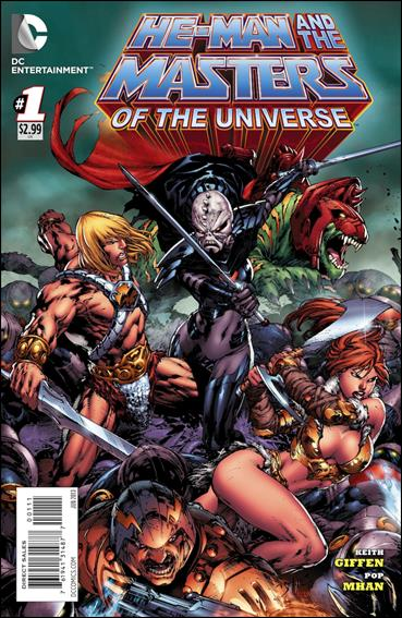 He-Man and the Masters of the Universe (2013) 1-A by DC