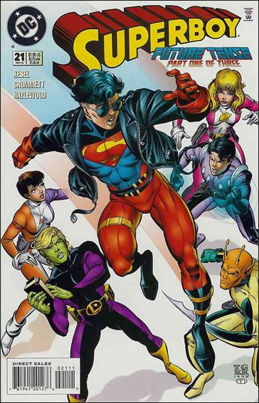 Superboy (1994) 21-A by DC