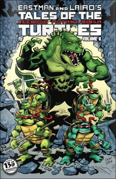Tales of the Teenage Mutant Ninja Turtles (2012) 8-A by IDW
