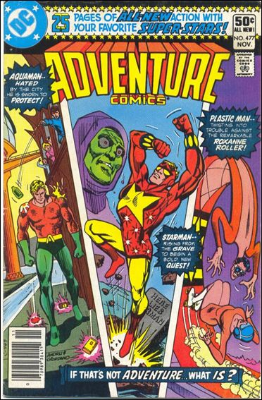 Adventure Comics (1938) 477-A by DC