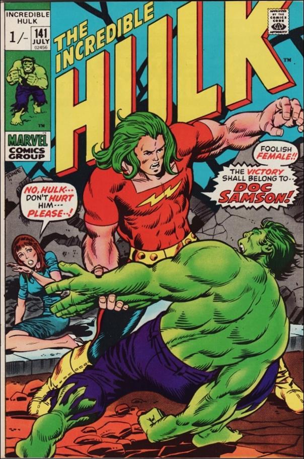 Incredible Hulk (1968) 141-B by Marvel