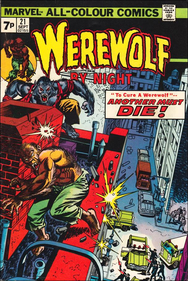 Werewolf by Night (1972) 21-B by Marvel