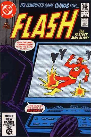 Flash (1959) 304-A by DC