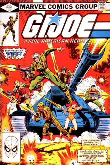 G.I. Joe: A Real American Hero 1-A by IDW