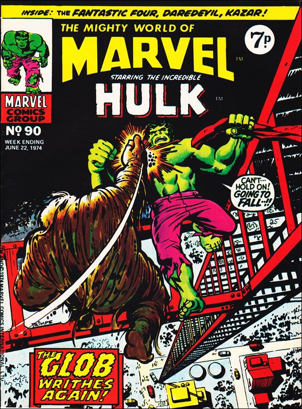 Mighty World of Marvel (UK) (1972) 90-A by Marvel UK