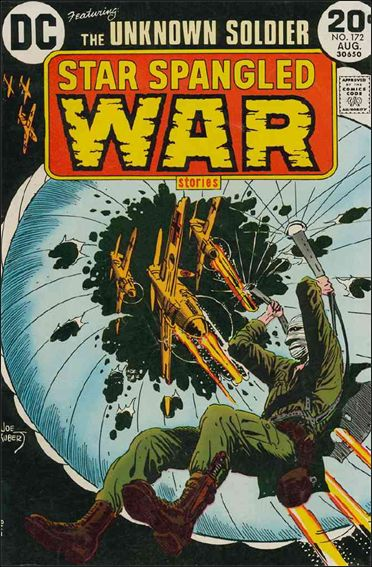 Star Spangled War Stories (1952) 172-A by DC