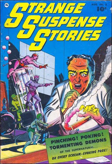 Strange Suspense Stories (1952) 2-A by Fawcett