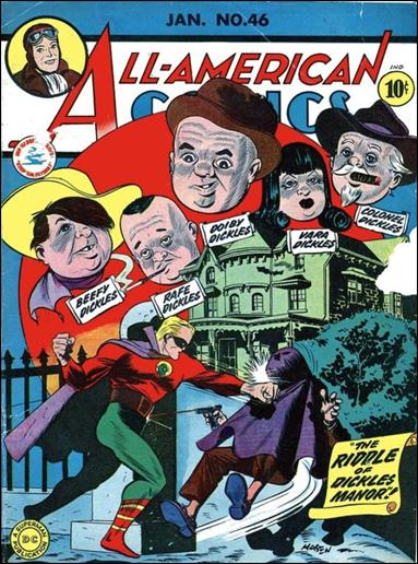All-American Comics (1939) 46-A by DC
