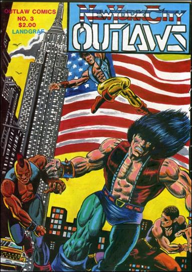 New York City Outlaws 3-A by Outlaw Comics