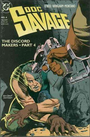 Doc Savage (1988) 4-A by DC
