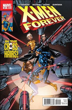 X-Men Forever (2009) 21-A