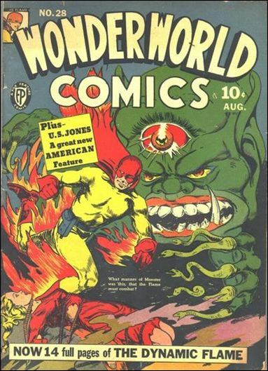 Wonderworld Comics 28-A by Fox