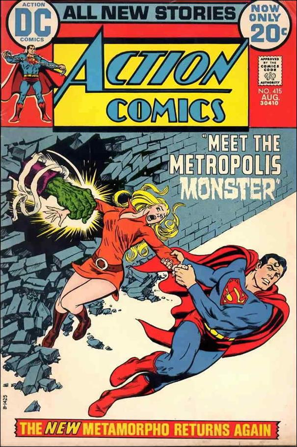 Action Comics (1938) 415-A by DC