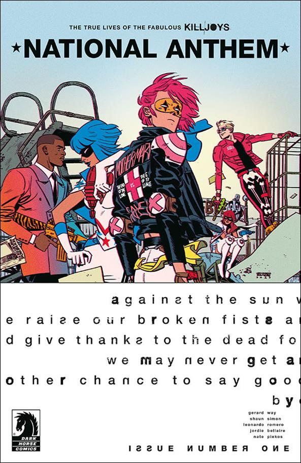 True Lives of the Fabulous Killjoys: National Anthem 1-A by Dark Horse