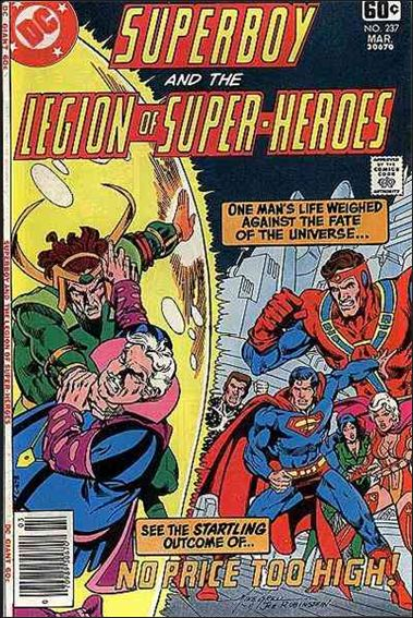 Superboy and the Legion of Super-Heroes 237-A by DC