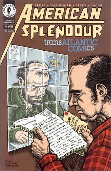 American Splendor: Transatlantic Comics 1-A by Dark Horse