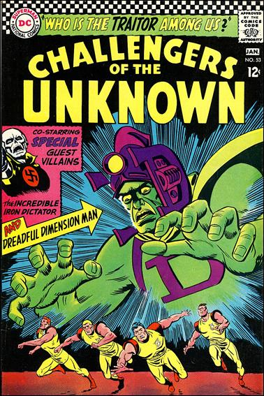 Challengers of the Unknown (1958) 53-A by DC