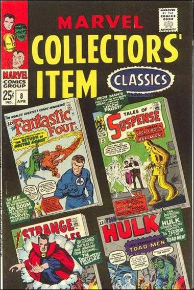 Marvel Collectors' Item Classics 8-A by Marvel