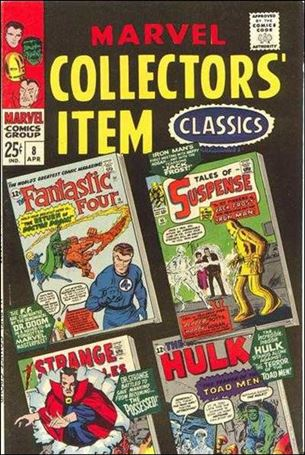 Marvel Collectors' Item Classics 8-A