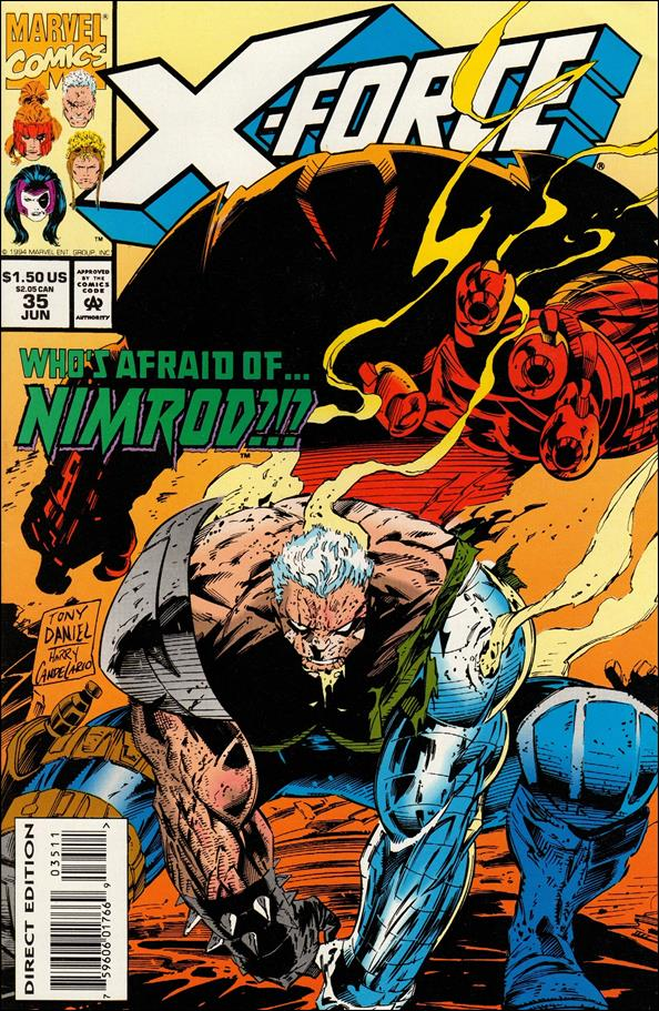 X-Force (1991) 35-A by Marvel