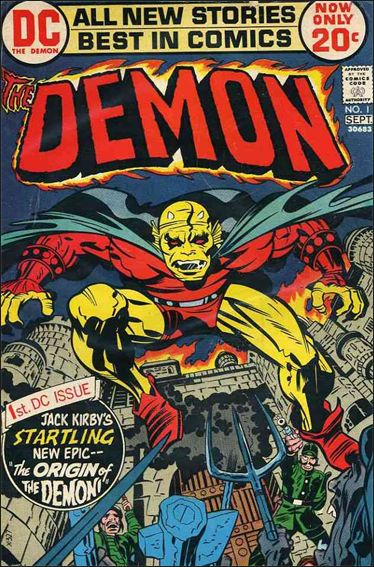 Demon (1972) 1-A by DC