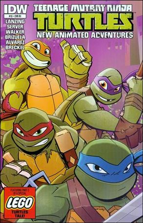 Teenage Mutant Ninja Turtles New Animated Adventures 13-C