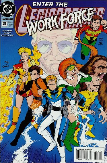 Legionnaires 21-A by DC