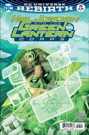 Hal Jordan and the Green Lantern Corps 28-B