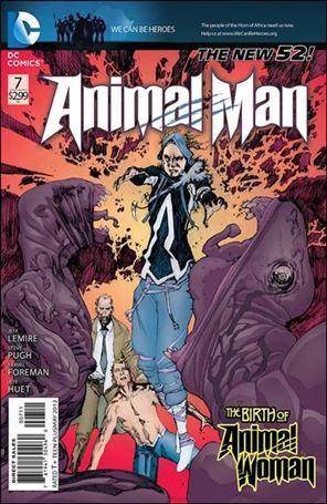 Animal Man (2011) 7-A