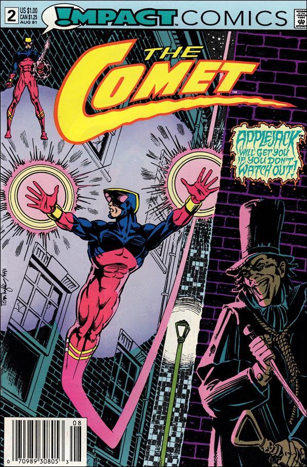 Comet (1991) 2-A by Impact Comics