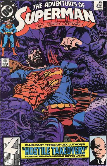 Adventures of Superman (1987) 454-A by DC