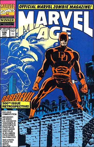 Marvel Age 106-A by Marvel