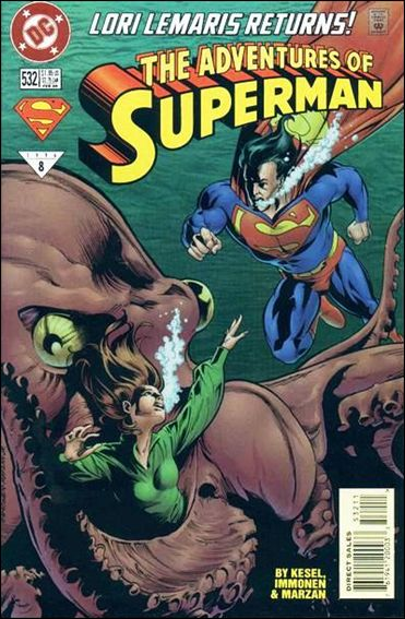 Adventures of Superman (1987) 532-A by DC
