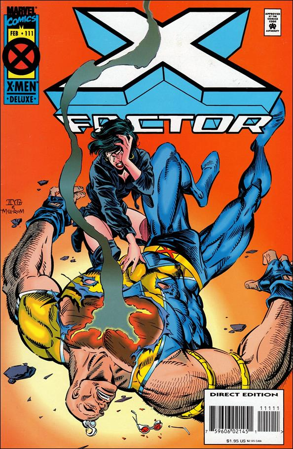 X-Factor (1986) 111-A by Marvel