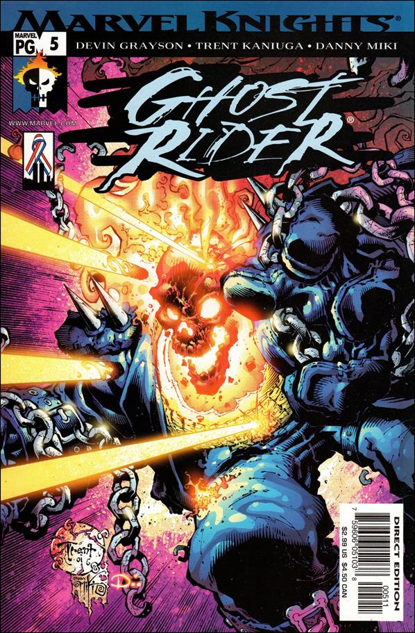 Ghost Rider (2001) 5-A by Marvel